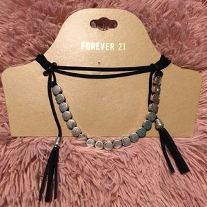 ⭐️4 for $15⭐️NWT Forever 21 Faux Suede Choker
